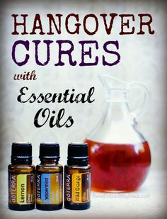 Hangover Cures with Essential Oils