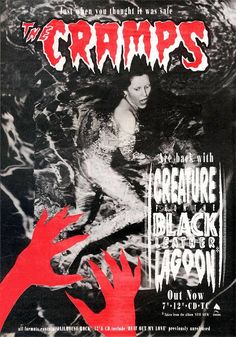 The Cramps, Creature From The Black Leather Lagoon