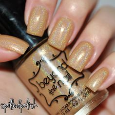 spilledpolish: Beyond the Nail - Champagne