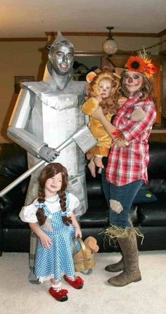 Halloween Costumes for Couples, Families, and Kids!