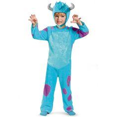 Disney / Pixar Monsters University Sulley Classic Costume - Toddler/Kids, Kids Unisex, Size: Large, Blue