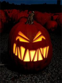 Scary Halloween Pumpkin Carvings | ... to Find Free Halloween Pumpkin Carving Stencils for Scary Pumpkins