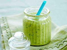 Vihreä virkistäjä Smoothie Drinks, Smoothie Recipes, Smoothies, Healthy Life, Diy And Crafts, Food And Drink, Keto, Snacks, Cooking
