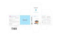 수분아 기초 화장품 패키지 단상자 라벨 디자인 : 네이버 블로그