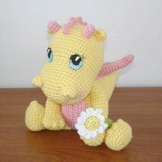 Baby Dragon Amigurumi