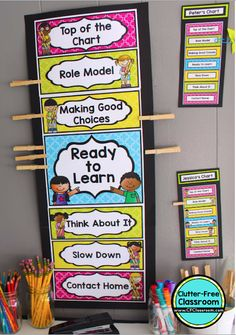 how to improve classroom behavior using clip charts clutter free classroom - The world's most private search engine Kindergarten Behavior Charts, Classroom Behavior Chart, Classroom Discipline, Behavior Clip Charts, Classroom Charts, Toddler Discipline, Kindergarten Rocks, Behavior Management Chart, Classroom Management Strategies