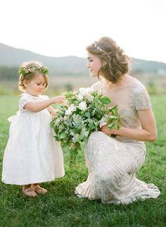 Dress: Naeem Khan / 25 Gorgeous Ethereal Colored Wedding Dresses : http://www.fabmood.com/gorgeous-colored-wedding-dresses