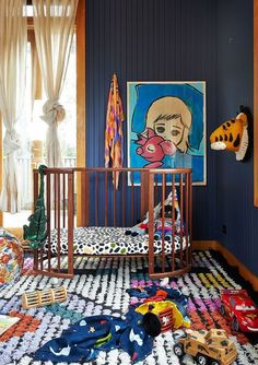 Baby room in blue duck! 45 Decoration Ideas Duck blue is a color is a bright color that has a lot of depth. Two years ago we started it as a trend, but we did not dare to paint a baby room in du. Nursery Room, Kids Bedroom, Nursery Decor, Kids Rooms, Navy Nursery, Lego Bedroom, Boy Rooms, Room Kids, Nursery Themes
