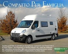 Helix Camper Izoard 555S - La prova completa su www.camperonline.com