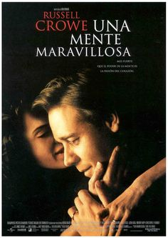 A Beautiful Mind di Ron Howard) con Russell Crowe, Ed Harris, Paul Bettany e Jennifer Connelly. World Movies, Hd Movies, Film Movie, Movies Online, Movies And Tv Shows, Watch Movies, Jennifer Connelly, Movies Worth Watching, Great Films