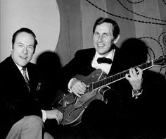 Eddy Christiani met Chet Atkins in 1969 Chet Atkins, Violin, The Selection, Music Instruments, Concert, Musical Instruments, Concerts