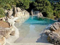 Albercas de estilo Mediterráneo por Biodesign pools
