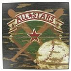 Baseball wall art...and a ton of other great baseball decor stuff!!