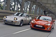 Old & New: Porsche 944 vs Toyota GT86