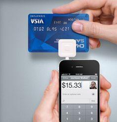 Square credit card machine for iPhone & iPad!