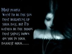 In your darkest hour...