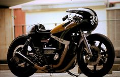 Custom Yamaha XS650 'Balle Full Cowl' by AN-BU. Japan Custom Motorcylce