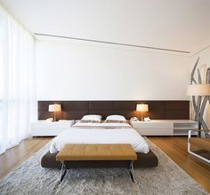 A Luxurious Bedroom – Interior Decorating by AGI Architects Contemporary Interior Design, Contemporary Bedroom, Modern Bedroom, Contemporary Furniture, Luxury Furniture, Agi Architects, Master Bedroom Interior, Dream Bedroom, Bedroom Bed