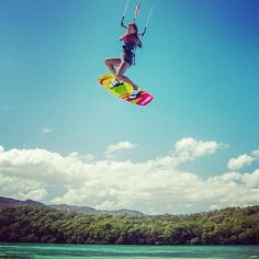 Kitesurfing at secret spot in Dominican republic | WeKite.eu