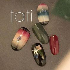 comments, 1 comment-tati Chiharu Takehara ( - Beauty World Toe Nail Color, Toe Nail Art, Toe Nails, Fancy Nails, Pretty Nails, Indian Nail Designs, Asian Nail Art, Bohemian Nails, Indian Nails