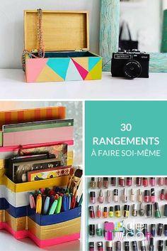 30 rangements à faire soi-même http://www.deco.fr/photos/diaporama-30-rangements-soi-d_3335