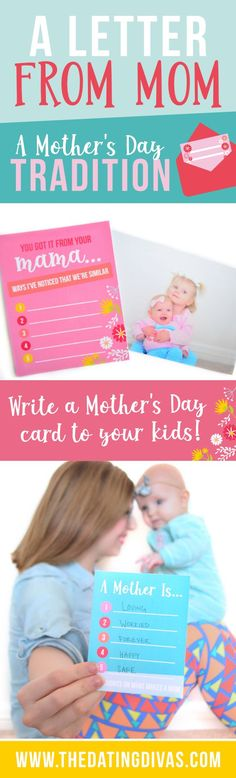 I've always wondered how to save those sweet Mother's Day feelings for my kiddos - this totally solves the problem! #MothersDay #MothersDayMessage #LetterToMyKids