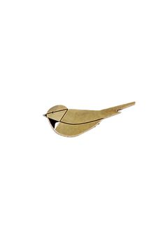 Jewelry Design | Bird-Shaped Brooch | Emmanuelle Biennassis | Made in Paris, France
