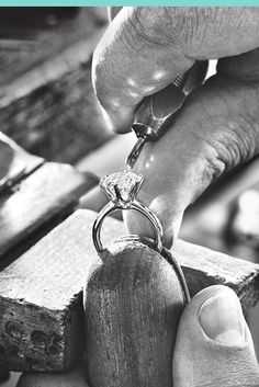 Tiffany diamonds are cut with the most exacting proportions to reveal a superior, striking stone. Tiffany & Co. diamond setter Marcus Latronico describes how the Tiffany® Setting is made.