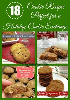 18 Delicious Cookie Recipes Perfect for your next holiday cookie exchange  | In Th Kitchen With KP | Cookie Recipe