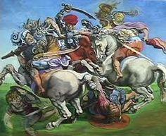 The Battle of Anghiari