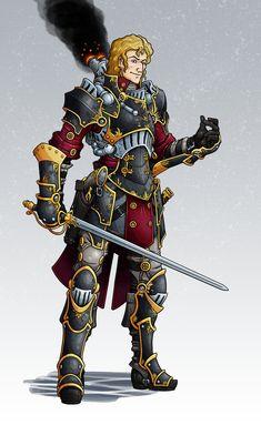 IKRPG Commission - OrdicWarcaster by nfeyma.deviantart.com on @deviantART