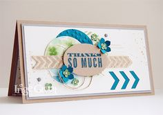 Stampin' Cards And Memories: Stampin' Club April inspiratiekaartje Thanks so Much