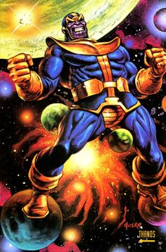 Thanos by Joe Jusko