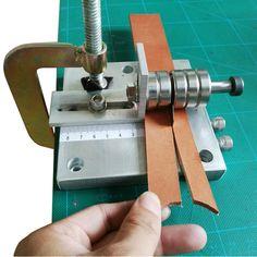 Leather Strap Cutter Machine Aluminium Leather Strip Cutting Belt Tool Durable