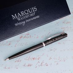 Personalized Waterford® Arcadia Ballpoint Pen @studioNotes
