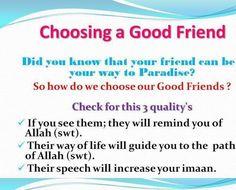 Friendship to Paradise :Islam
