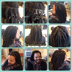 Style: Loc Maintenance/Retight (Palm-rolled/Twisted) Client's Hair Type: 4b/c Hair Added: NA Products Used: Coiled! by Conscious Coils (Original Refresher Spray and Loc & Styling Gel)  Time: 2hrs Style Duration: Retight every 6-8weeks (recommended)  #consciouscoils #consciouscoilssalon #coiledbyconsciouscoils