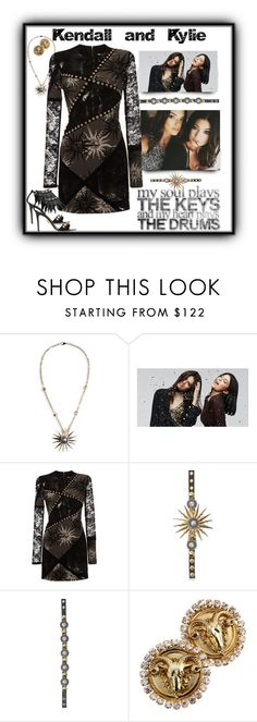 """""""Kendall and Kylie Jenner"""" by leanne-laviolette ❤ liked on Polyvore featuring FAUSTO PUGLISI, PacSun, kendalljenner, KylieJenner, FaustoPuglisi and kendallandkylie"""