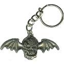 Avenged Sevenfold Deathbat Metal Keychain