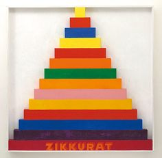 Zikkurat 1967 by Joe Tilson © Joe Tilson. All Rights Reserved, DACS/Artimage Image: © Waddington Custot. Photo: Prudence Cuming Associates Ltd Best Of British, Professional Painters, Sculptures For Sale, Oil Painters, Art For Art Sake, Color Theory, Abstract Expressionism, Amazing Photography, Pop Art