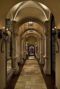 Hallway Designed & Built by Fratantoni Luxury Estates. www.FratantoniLuxuryEstates.com