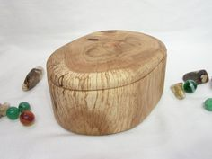 Oak Tree Branch Wood Box wooden jewelry box 5th by earnestefforts