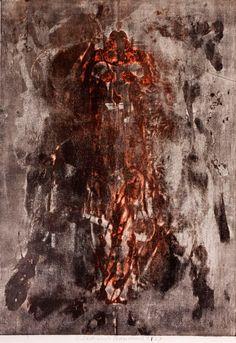 Vladimír Boudník / Venus of Vestonice Modern Art, Contemporary Art, Digital Art Photography, Installation Art, Art Blog, Venus, Sculpture, Drawings, Artwork