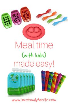 Making meal time with your little ones a little easier!