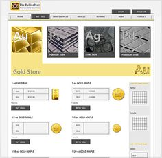 Website design for Bullion mart - Simple and Grid system Design, colored by YellowAndRed Sell Silver, Grid System, Buy And Sell, Chart, Website, Simple, Gold, Stuff To Buy, Design