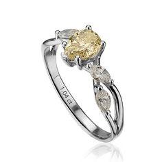 Inel de logodna cu diamante PD105 Custom Jewelry, Engagement Rings, Fashion, Enagement Rings, Moda, Wedding Rings, Personalized Jewelry, Fashion Styles, Diamond Engagement Rings