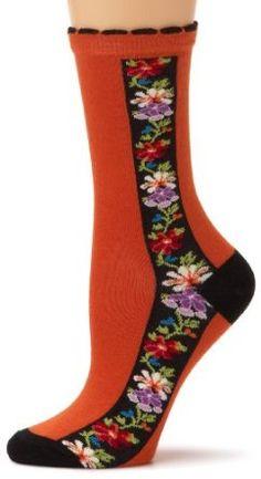 Nordic flower socks