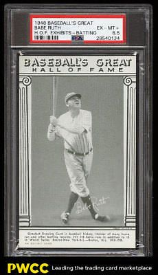 1948 Baseballs Great Hall Of Fame Exhibits Babe Ruth