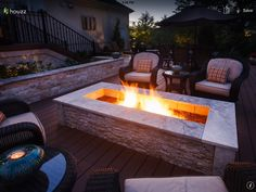 Outdoor living and fireplaces
