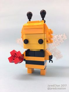 ~ Lego Mocs Holidays ~ Easter ~ Collectible Animal Suit Brickheadz (2017) | Jared Chan